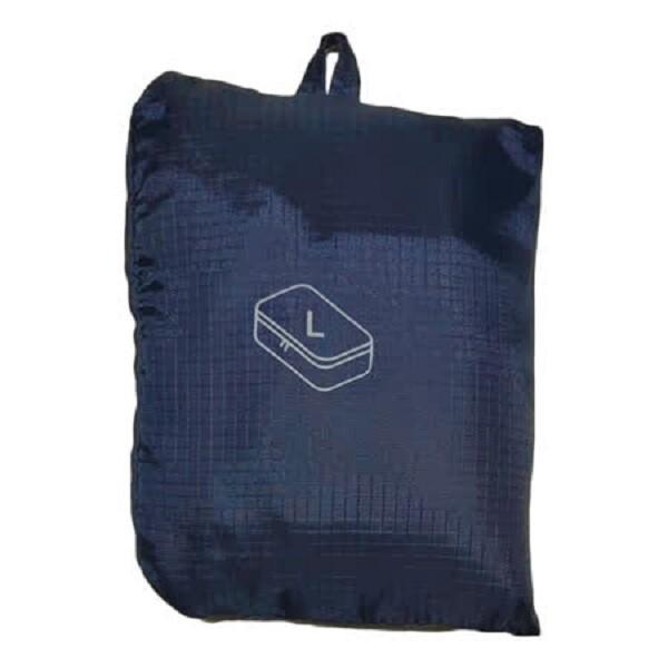 olina日系輕旅必備 防水收納袋( s+l)-深藍色