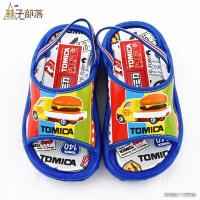 【鞋子部落】 Tomica多美汽車 超可愛漢堡車 男童戶外拖 TM0852 藍 (8.4折)