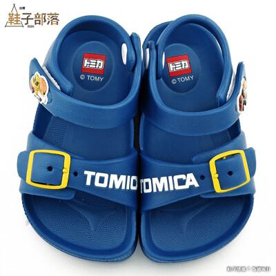 【鞋子部落】Tomica多美汽車 漢堡車X薯條車 輕量涼鞋 TM1829 藍 (6.9折)