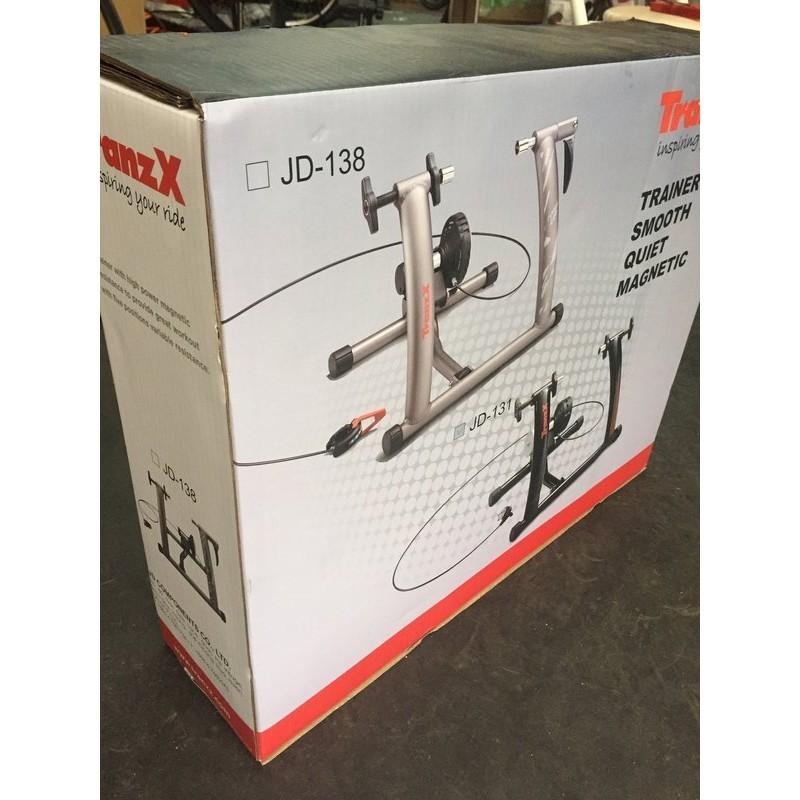 紀錄單車 tranzx jd-131 九鼎 全新盒裝 超靜音 線控七段 磁組快拆式 26吋29吋 固