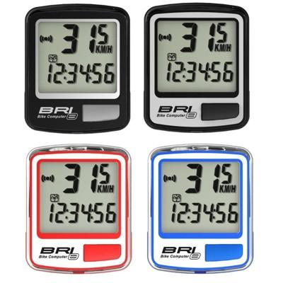 紀錄單車 全新 ECHOWELL BRi-8 有線碼錶 公路車 bryton參考 (黑/銀/紅/藍) (10折)