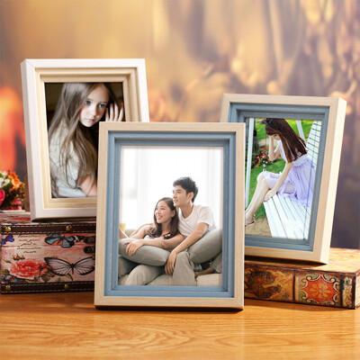 北歐相框 兒童相片框 照片框 牆壁 桌面擺飾 掛件 5吋 (8.9折)