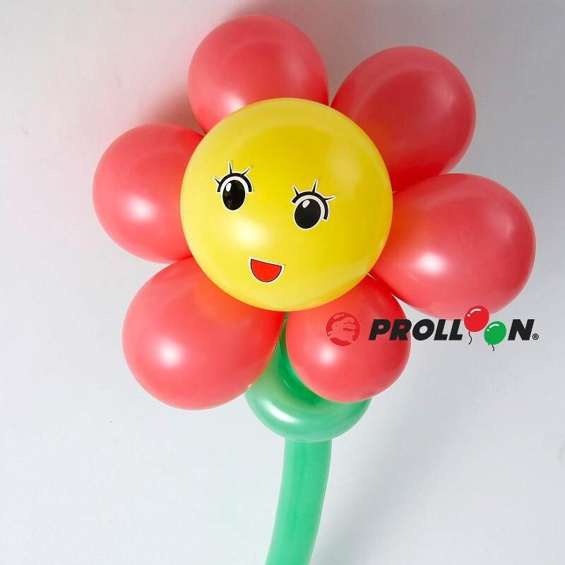 大倫氣球花朵 6瓣花 氣球 diy  氣球佈置 台灣製造 安全無毒