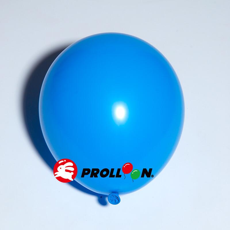 大倫氣球11吋糖果色 圓形氣球 100顆裝 藍色 台灣製造 安全無毒