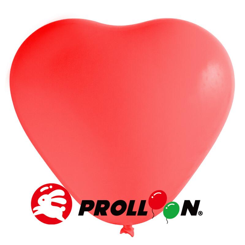 大倫氣球 12吋糖果色 心形氣球 100顆裝 紅色 台灣製造 安全無毒