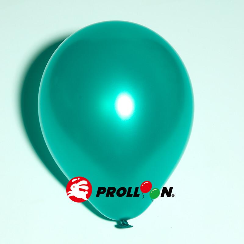 大倫氣球5吋珍珠色圓形氣球 100顆裝 綠色 台灣製造 安全無毒