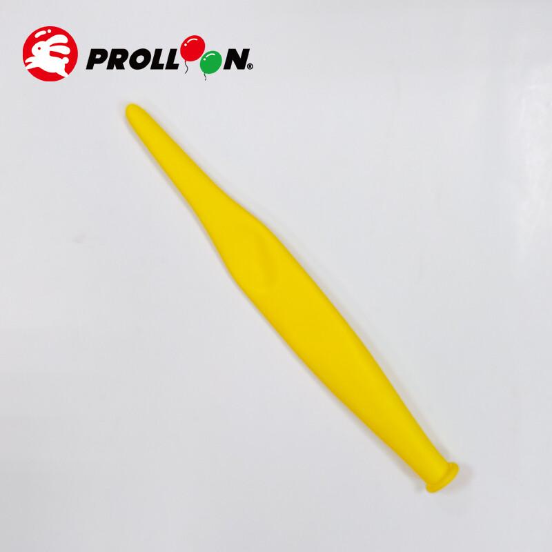 大倫氣球造形蘋果氣球 321 整條顏色相同 100顆裝 黃色 台灣製造 安全無毒