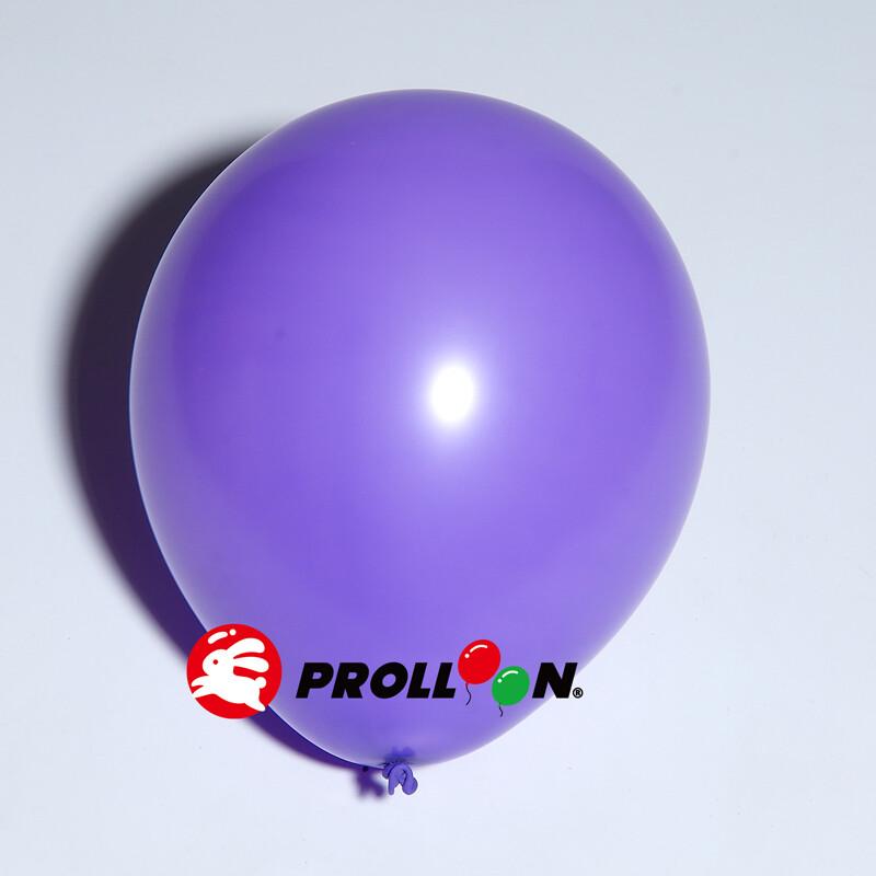 大倫氣球5吋糖果色 圓形氣球 100顆裝  紫色 台灣製造 安全無毒