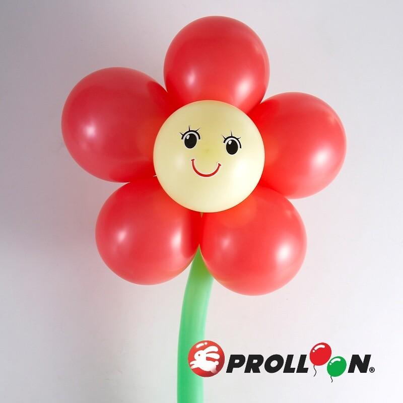 大倫氣球花朵 5瓣花  氣球 diy  氣球佈置 台灣製造 安全無毒