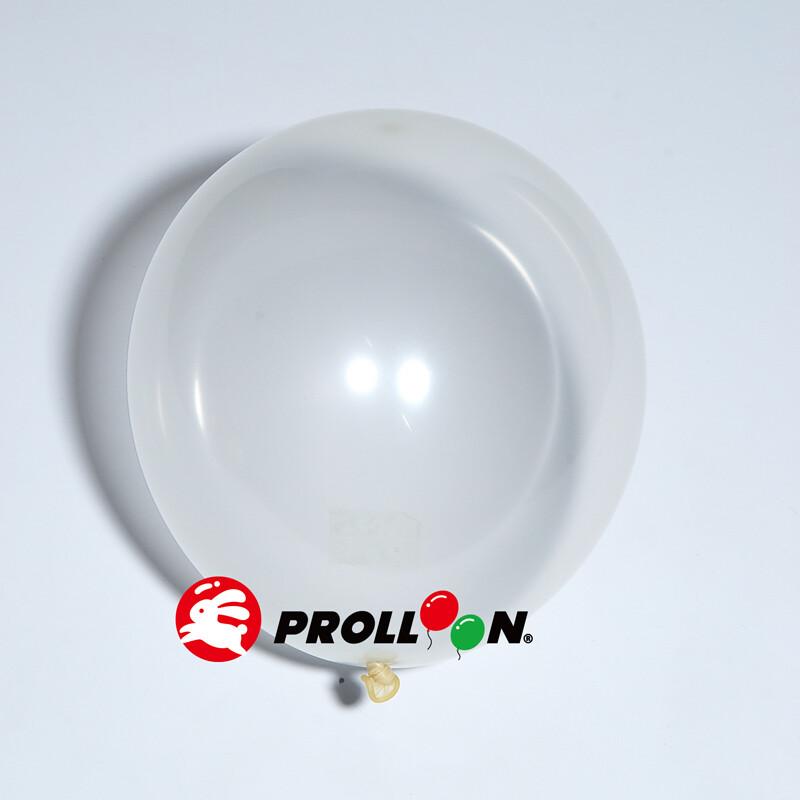 大倫氣球5吋糖果色 圓形氣球 100顆裝  透明 台灣製造 安全無毒