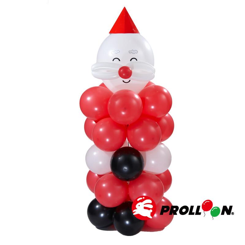 大倫氣球聖誕老公公  氣球 diy  氣球佈置 台灣製造 安全無毒