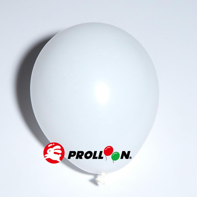 大倫氣球5吋糖果色 圓形氣球 100顆裝  白色 台灣製造 安全無毒