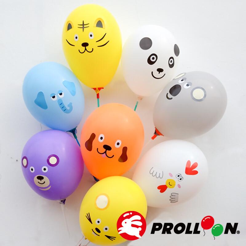 大倫氣球動物氣球組 a+b款貼紙組 台灣製造 安全無毒