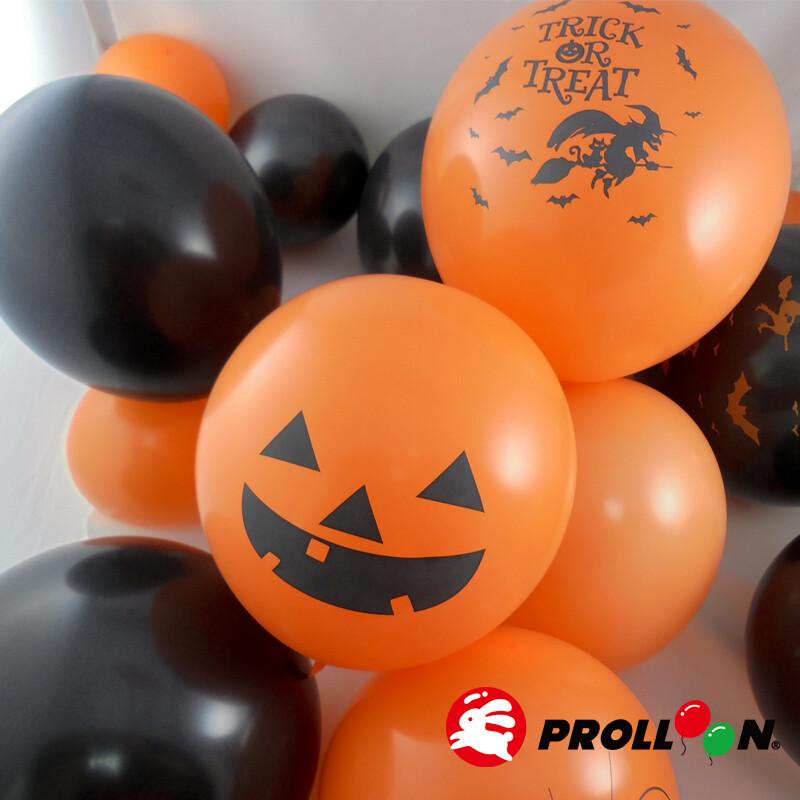 大倫氣球萬聖節歡樂氣球 16入裝   氣球佈置 台灣製造 安全無毒