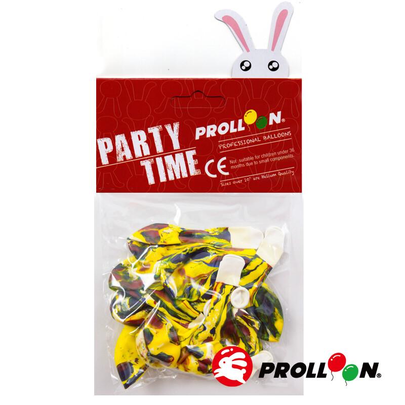 大倫氣球8吋多彩圓形氣球 20入裝 隨機混色 小包裝 台灣製造 安全無毒