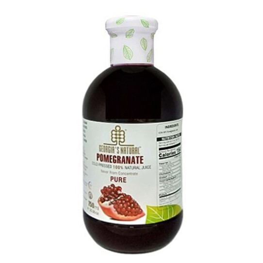 georgia紅石榴原汁750ml/瓶(高濃度鞣花酸 喬治亞原裝原瓶)小資屋