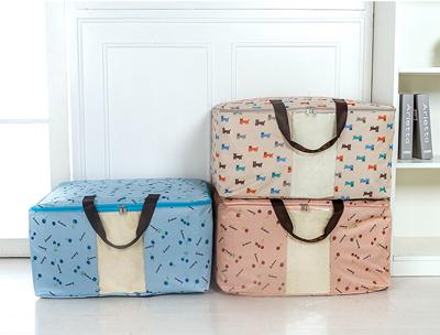 600D加厚印花 牛津布棉被收納袋 行李袋 棉被袋 搬家袋 (1.9折)