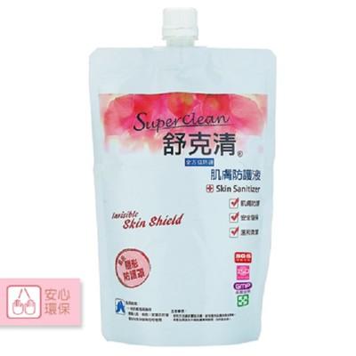 【舒克清】肌膚防護液 Skin Sanitizer 補充包 600ml (6.8折)