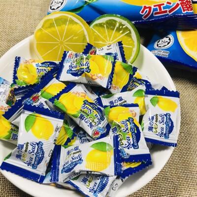 【良辰即拾】海鹽檸檬糖 海鹽糖 薄荷岩鹽檸檬糖 岩鹽糖 (6.2折)