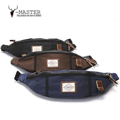 【海思】正韓 韓國直送 Y-MASTER 城市探險- 時尚質感韓版腰包 / 胸包 YP-01NV ( (8折)