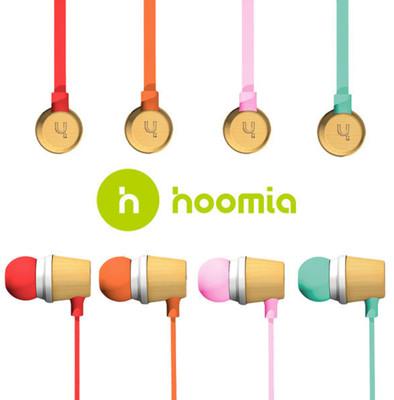 hoomia Bon5S 經典復刻繽紛原木 入耳式立體聲耳機 (7.1折)