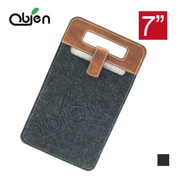 obien防潑水7吋手提平板電腦保護袋(ipad mini適用) - 黑色