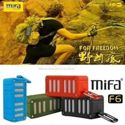 MiFa F6 無線NFC快速配對 戶外藍芽喇叭 藍芽4.0 防水防震防塵 3D音效 藍芽免持通話 (6.6折)