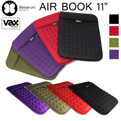 VAX BOLSARIUM 歐洲名品豆豆包BONANOVA長天鵝絨防震包MacBook Air 11 (8折)