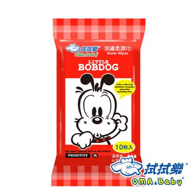 【拭拭樂】 BobDog純水潔膚柔濕巾 10抽 (2折)