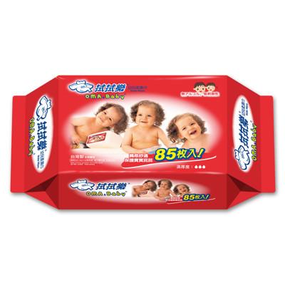 【拭拭樂】 幼兒超純水柔濕巾85抽 (5.5折)