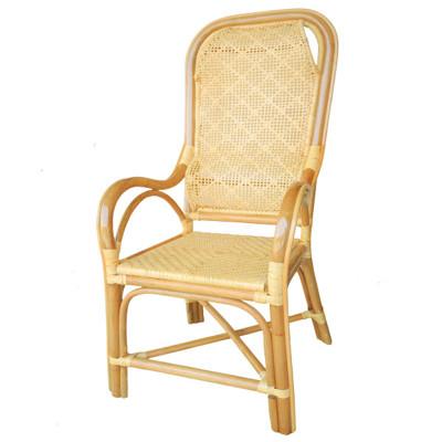 【MSL】雙護腰藤椅一般型(老人藤椅) (6.7折)