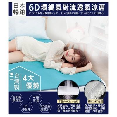 6d可水洗彈力床墊(台灣製) - 雙人加大 (5.2折)