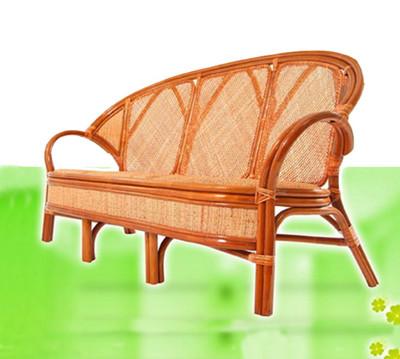 【MSL】麗寶藤皮三人坐藤椅/客廳沙發椅(古銅色) (5.2折)
