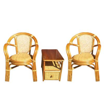 精緻泡茶桌椅組(一桌二椅) (7.3折)