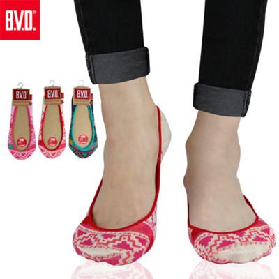 BVD 復古幾何女襪套-B254(女襪/襪子/隱形襪) (7.2折)
