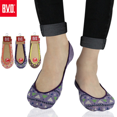 BVD 復古三角女襪套-B252(女襪/襪子/隱形襪) (7.2折)