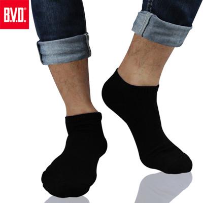 BVD 毛巾底船型襪 3雙(男)-B230 (5.9折)
