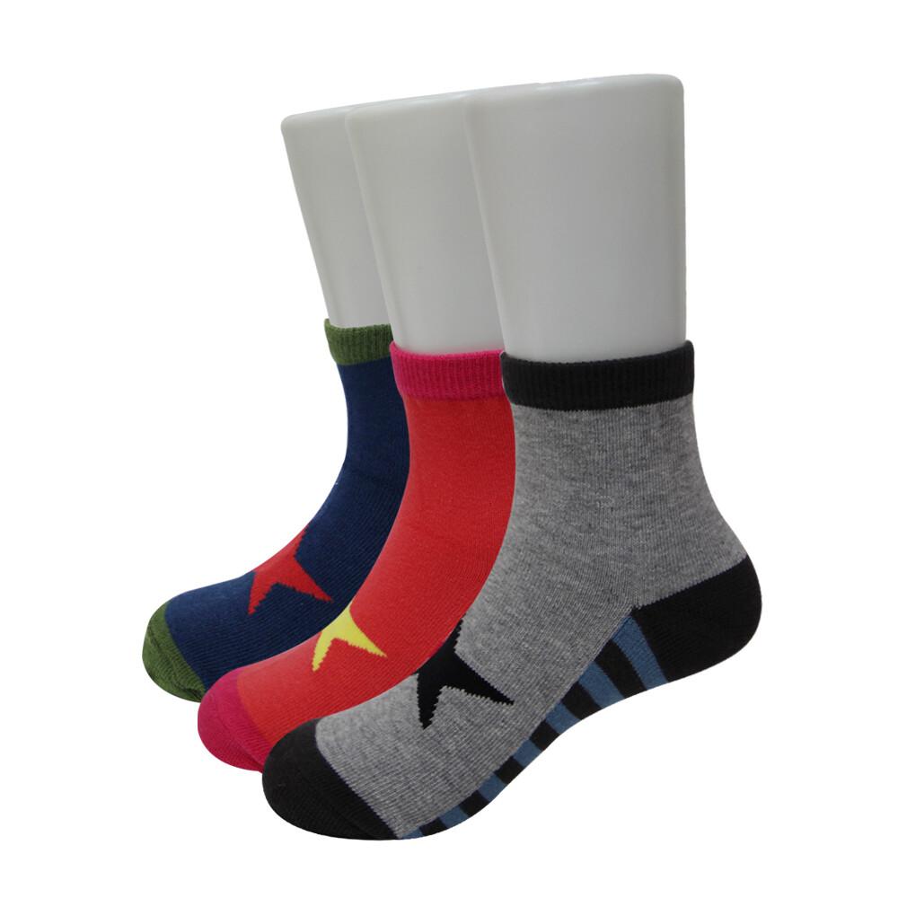bvd幸運之星1/2童襪-b264.b265 (童襪/短襪)