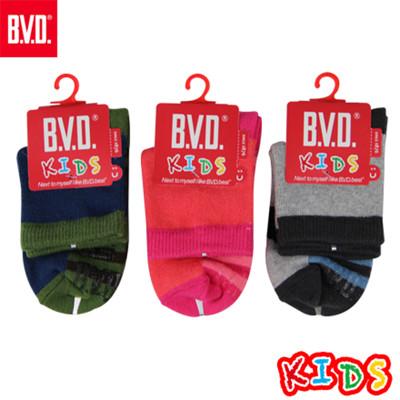 BVD幸運之星1/2童襪-B264.B265 (童襪/短襪) (5.6折)