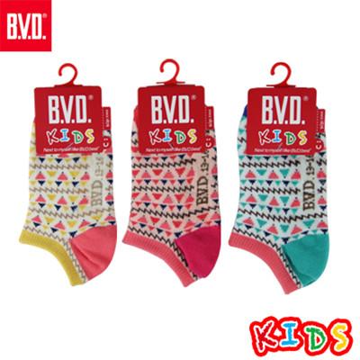 BVD復古小山童踝襪-B270.B271 (童襪/短襪/低口襪) (5.6折)