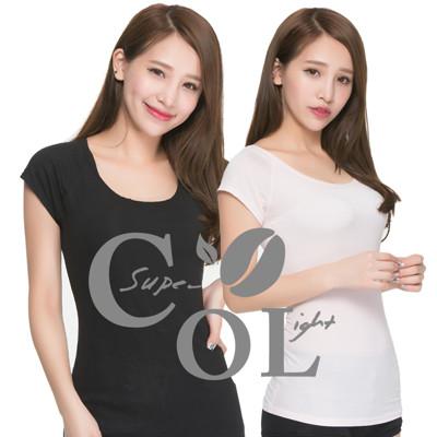 【富立金】冰礦咖啡涼感輕著女上衣-L301(涼感/上衣/短袖) (5.6折)