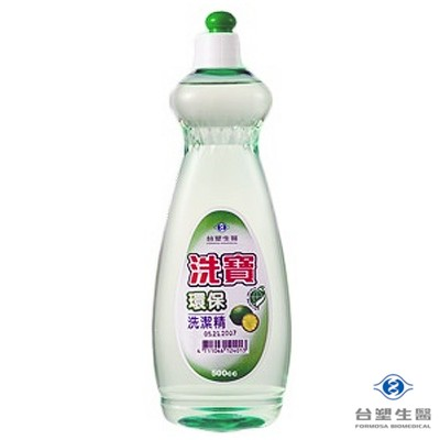 台塑生醫 洗寶環保洗潔精 洗碗精 500g (7.6折)
