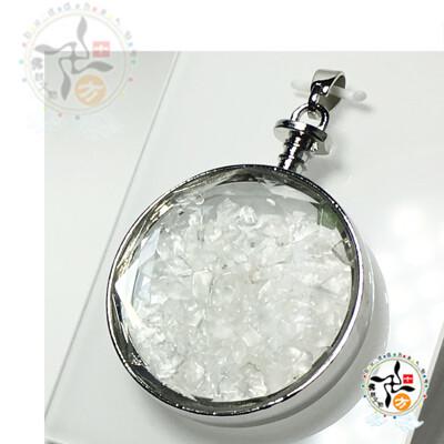 圓滿水晶能量寶瓶 4*1.2*5.2公分【 十方佛教文物】 (3折)