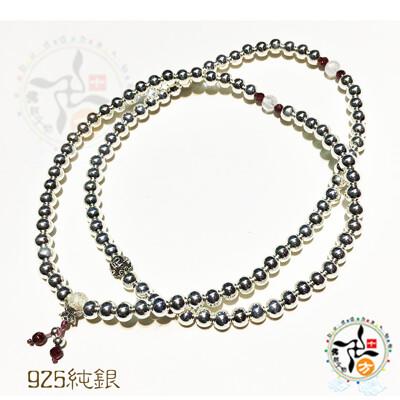 月光石+925純銀108念珠5mm【十方】 (5折)