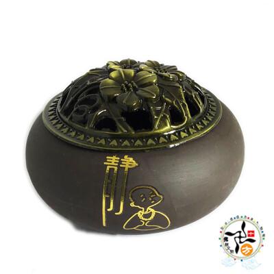 靜 紫砂淨香爐【十方】 (5.6折)