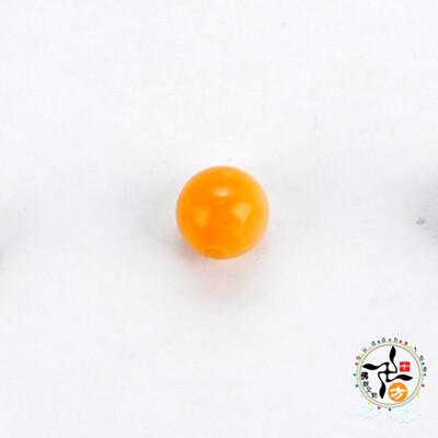 黃金硨磲 圓珠6mm 配件2個【十方佛教文物】 (7折)
