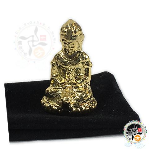 虛空藏菩薩(肖牛虎)3公分十方佛教文物