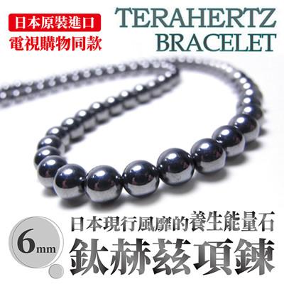 日本原裝鈦赫茲 高能量循環項鍊 (6折)