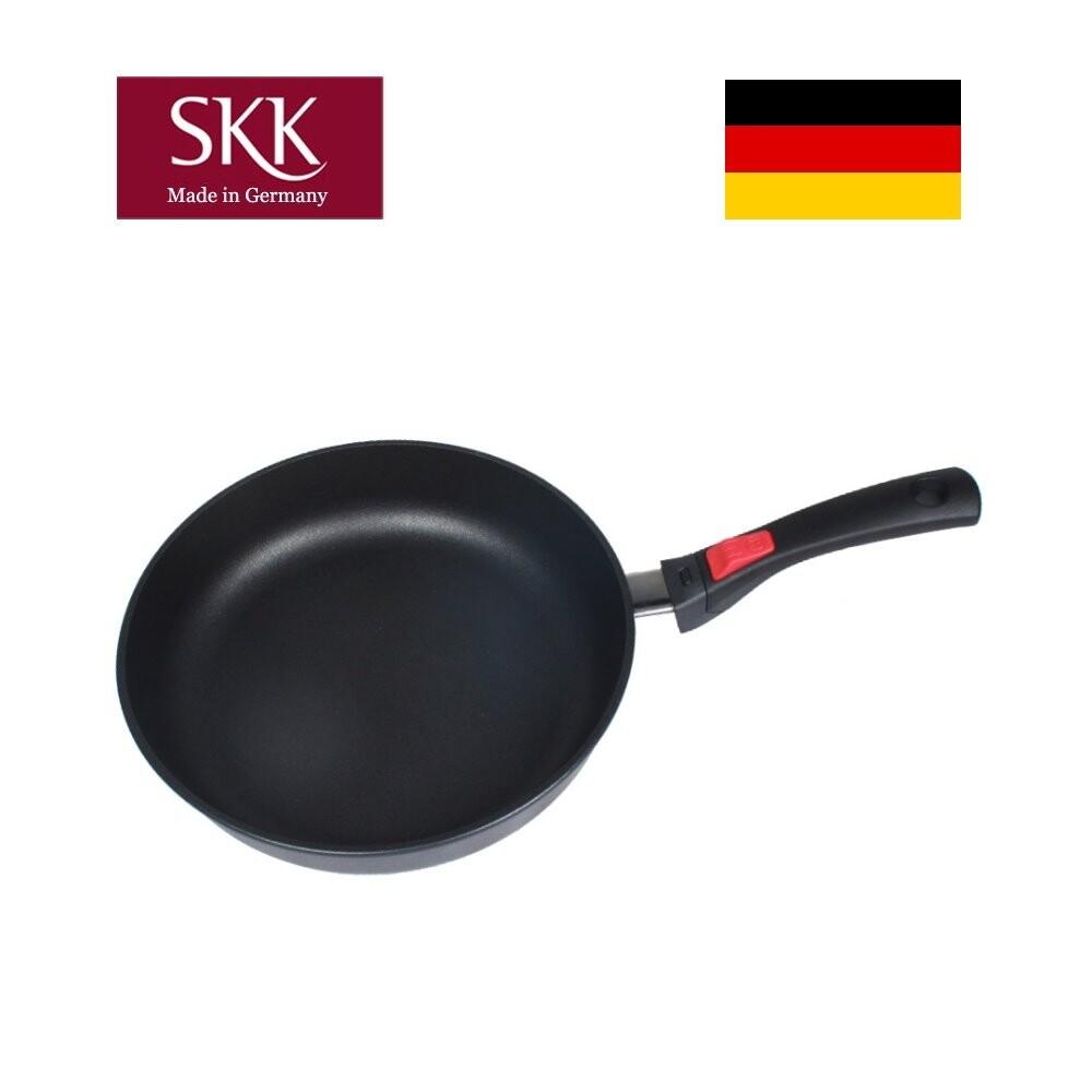德國skk  鑄造平底鍋28cm (拆式手柄)
