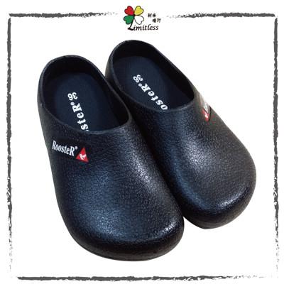 ROOSTER公雞 廚師鞋 廚房工作鞋 荷蘭鞋 園藝鞋 防水鞋 防滑鞋 (5.6折)